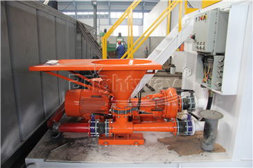 Jet Mud Mixer in Coal Bed Methane system