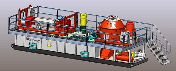 3D View of Brightway Drilling Waste Management